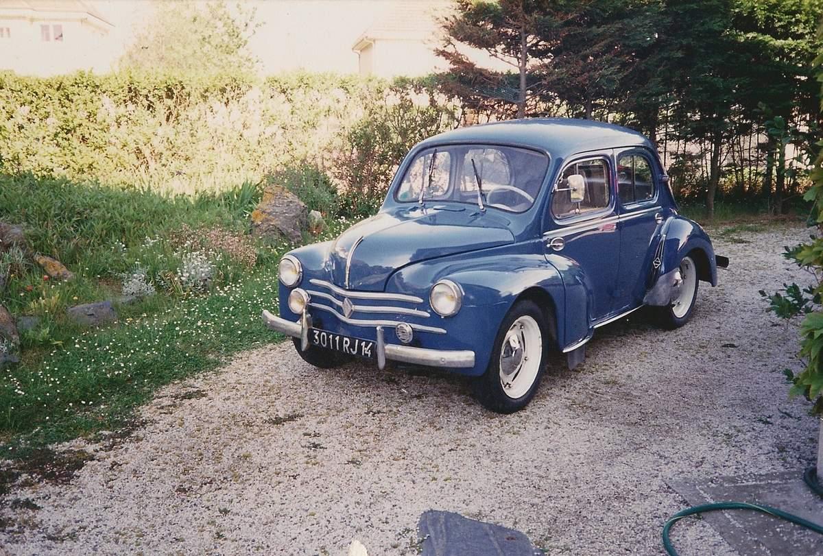 renault 4 cv  1947